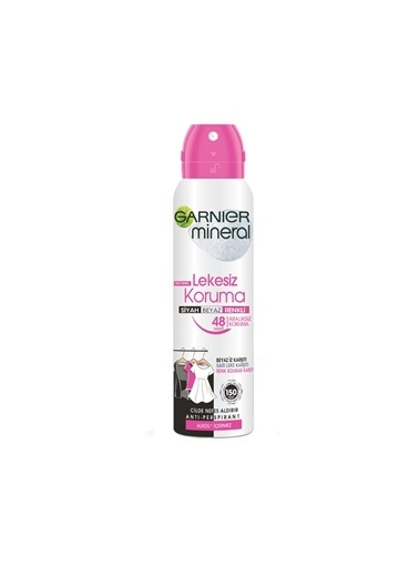 Garnier Garnıer Mineral Lekesiz Koruma Deodorant 150 Ml Renksiz